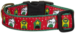 dog christmas clothes collar