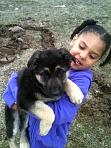 Bailey and my daughter Takiya